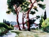 20-Cezannes_Hill_France_11x15