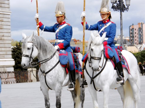 Guards at the Royal Palace
